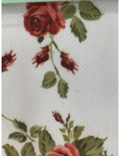 Полиестер с флорални мотиви Flowers 01