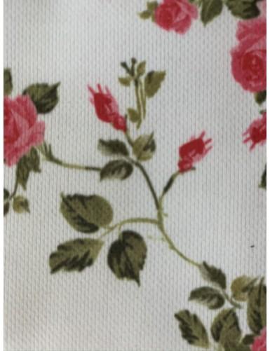 Полиестер с флорални мотиви FLOWERS 04