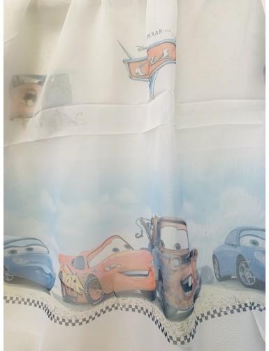 Детско перде със щампа CARS